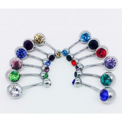 Belly Button Pin Ring Piece