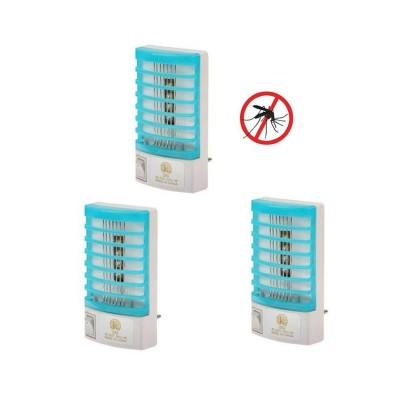Pack Of 3 Mosquito Killer Lamp Electron Go Out