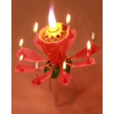 Blossom Lotus Flower Candle