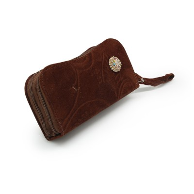 Fancy Hand Clutch For Girls - Brown Color BG-238