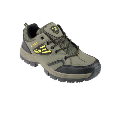 Green Breathable Hiking Shoes