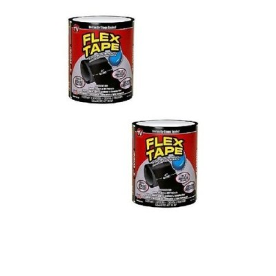 Pack Of 2-Flex Tape Repair Rubberized Waterproof Tape
