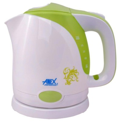 Electric Kettle With ConceaLED Element 1.5 Ltr Ag-4024 Green White