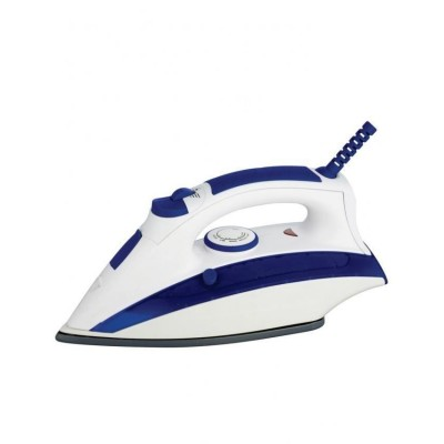 Steam Iron - Blue & White