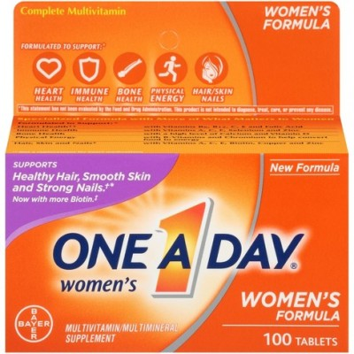 One A Day Womens Formula 100 Tablets