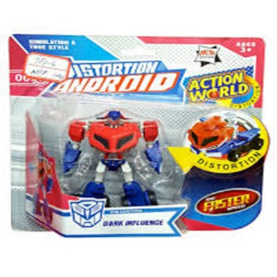 Distortion Android Transformers Multi Design Model Car