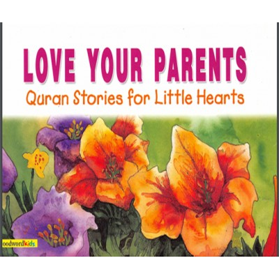 Kids Islamic Love For Parents Book Basic Learning Reading & Performance
