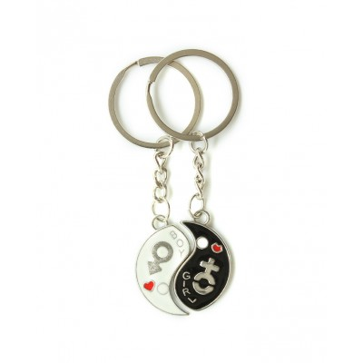 Boys and Girls Pairs Couple Keychain For Lovers