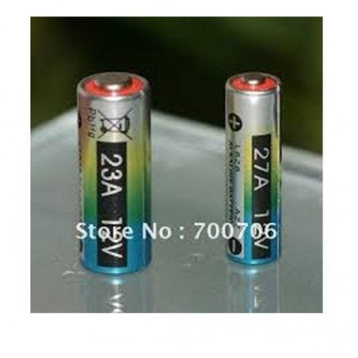 27A 12V Alkaline Battery Cells 27Ae Primary Dry Batteries Also Use These Model Are Same 23A G27A / Mn27 / Ms27 / Gp27A / A27 / L828 / V27Ga / Ca22 / El812 / El-812 / Ca22 / B-1 / Snn4176A / Alk27A / A27Bp / K27A / V27Ga / Va27Ga / Vr27 / Ms27 / R27A