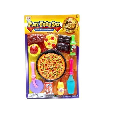 Beautiful Food Play Playing Pizza Set for Kids