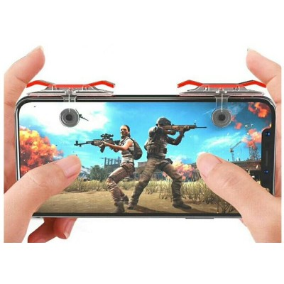 Mobile Game Trigger, PUBG Rules, L1 & R1 - 1 Pair in Box (2Pieces)