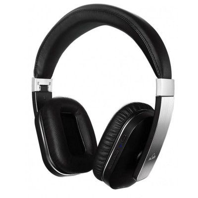 APT-X (USA) - Wireless Over-ear Headphones with Mic -  S204 -Black & Silver