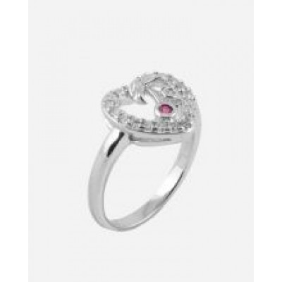 Silver Rhodium Plated Rhodium Plated Ring