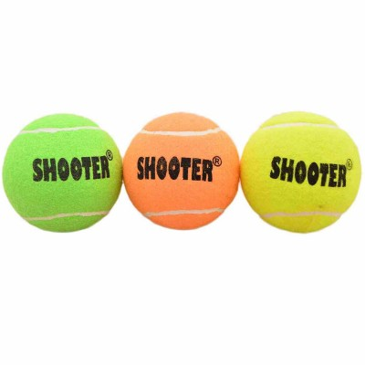 Shooter Tennis Ball For Cricket And Tennis Multicolor
