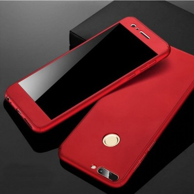 Huawei P8 Lite 2017 360 Front and Back Cover - Red