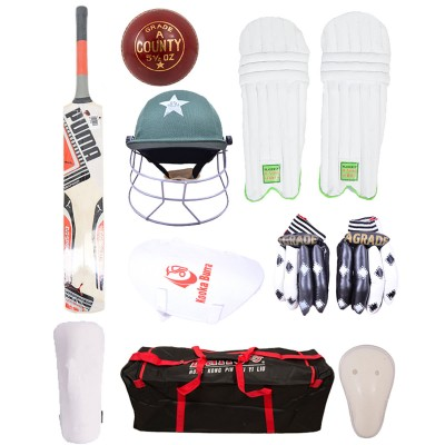 Pack Of 9 Cricket Kit For Adults