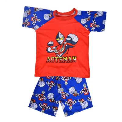 Aoteman Swimming Suit For Boys Red (4 To 5 Years)