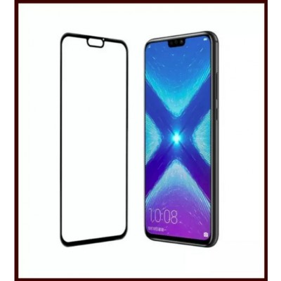 3D Tempered Glass Screen Protector Coverage For Huawei Honor 8X - Black