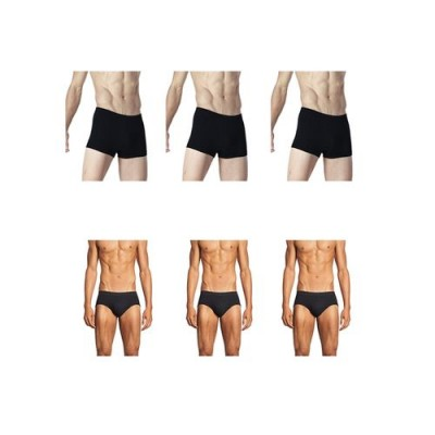 Pack of 6-Multicolor Cotton Boxer &  Inner Brief for Men-XL