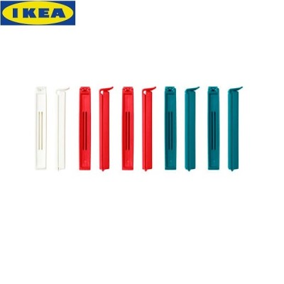 IKEA Sealing Clips, Set of 10 Pieces