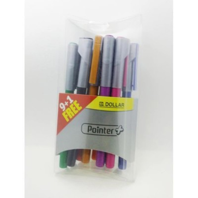 Dollar Pointer Plus - Multicolour (0.3 Mm)