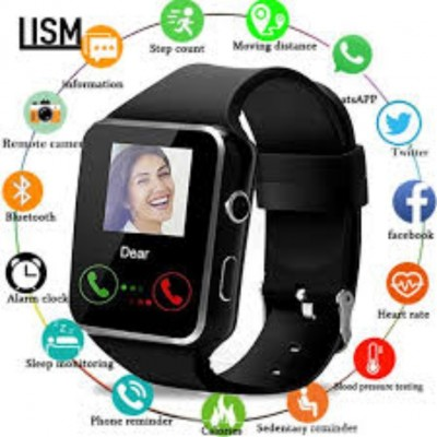 X7 Bluetooth Smart Watch Bluetooth call Music Player Fitness Tracking For Man & Woman