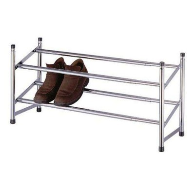 Silver Shoes Rack