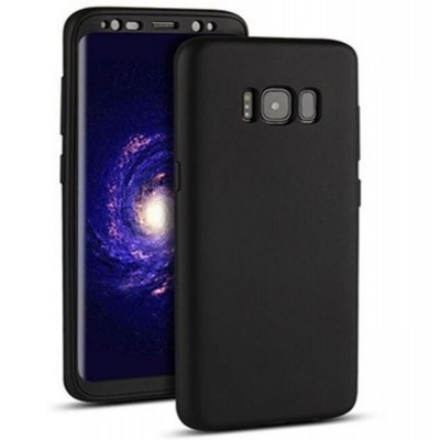 Samsung Note 8 360 Front and Back Cover - Black