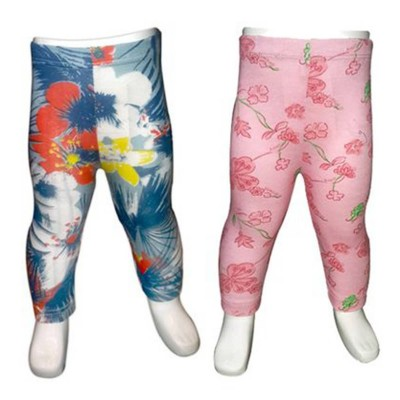 Pack Of 2-Printed Multi-Color Legging