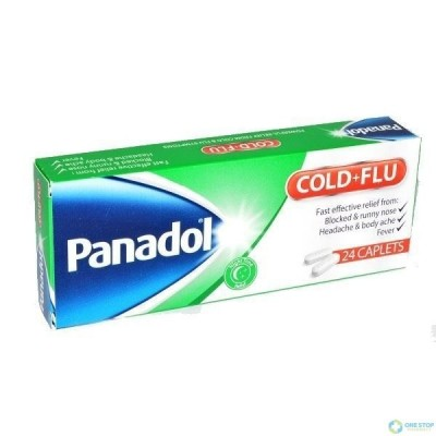 Panadol Cold And Flu (Australia Imported)