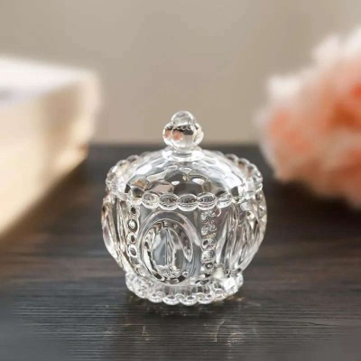 Transparent Glass Candy Box Creative Jewelry Box