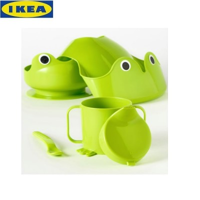 IKEA Baby Eating Set, Set of 4 Pieces
