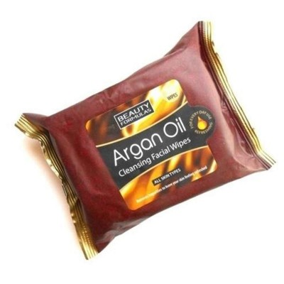 Argon Oil Cleansing Facial Wipes-30 Wipes