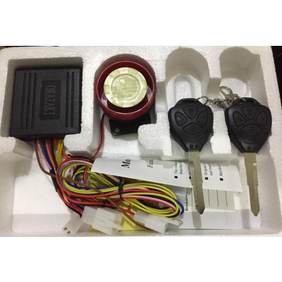 Motorcycle Security Alarm System Anti Theft Alarm System For Bikes