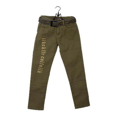 Five Pocket Brown Casual Pant For Baby