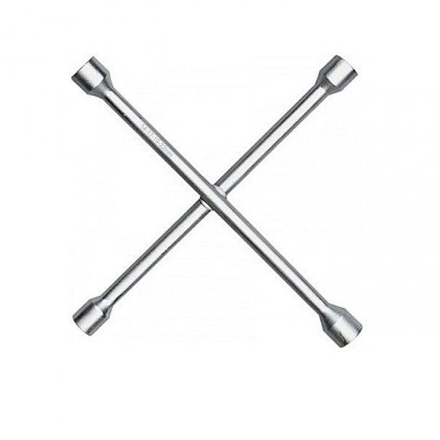 4-Way Nut Buster Wrench - Silver - 14-17-19-22mm