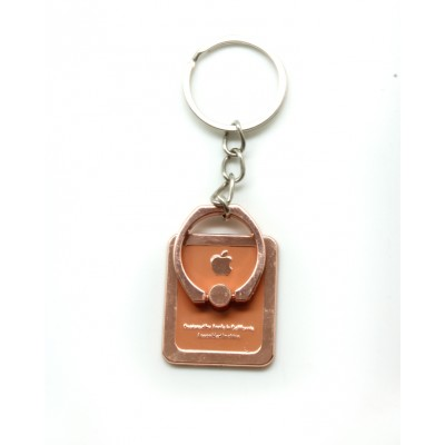 Mobile Ring Holder Design With Keychain