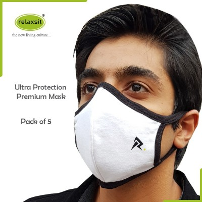 Ultra-Protection Three-Layer Dust-Proof Face Mask 5Pcs