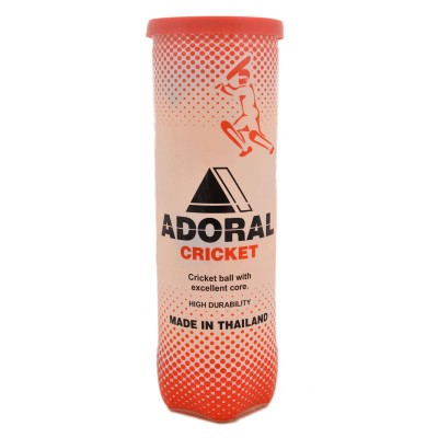 Pack Of 3 Adoral Cricket Tennis Balls For Cricket And Tennis