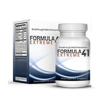 Formula 41 Extreme Timing Capsule For Men