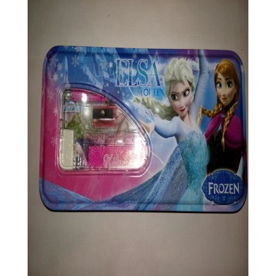 Elsa And Anna Pencil Box With Accessories