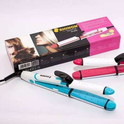 Shinon sh-8005 3 In 1 Professional Hair Straightener Curler And Crimper Hair Styling Machine