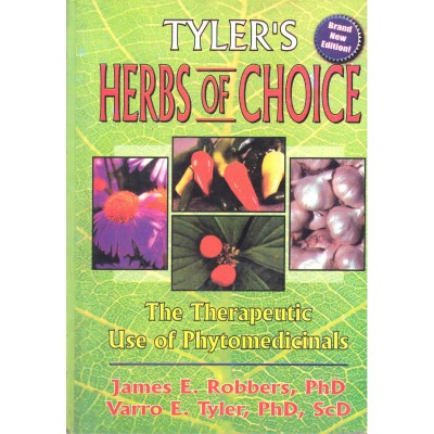 Herbs Of Choice The Therapeutic Use Of Phytomedicinals