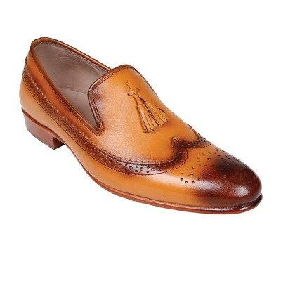 Brown Formal Leather shoes-L1018C