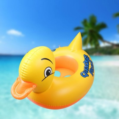 Floating Pool Duck for Kids - Yellow