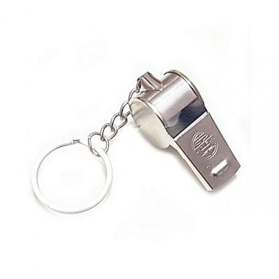 Personalized Coach Whistle Key Chain