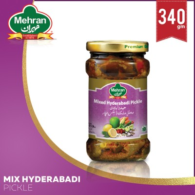 Mixed Pickles Hyderabadi 340 Gm