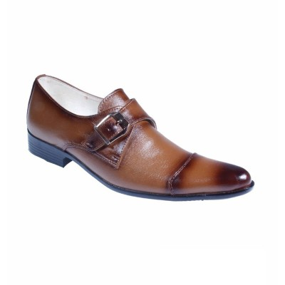 Brown Formal Leather shoes-L1032C