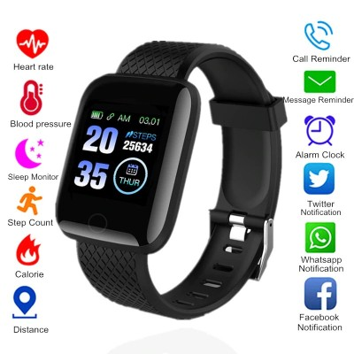 D13 SMART WATCH FITNESS BRACELET BLOOD PRESSURE BLUETOOTH HEART RATE MONITOR