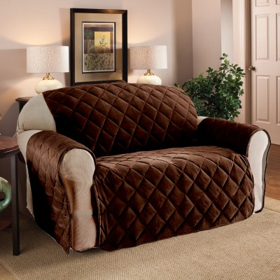 7 Seater Brown Sofa Coat/Cover